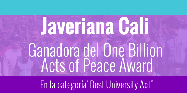 ganadores one billion acts of peace